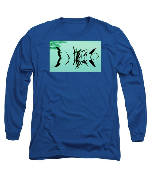 Leaves And Dragonflies 2 Long Sleeve T-Shirt