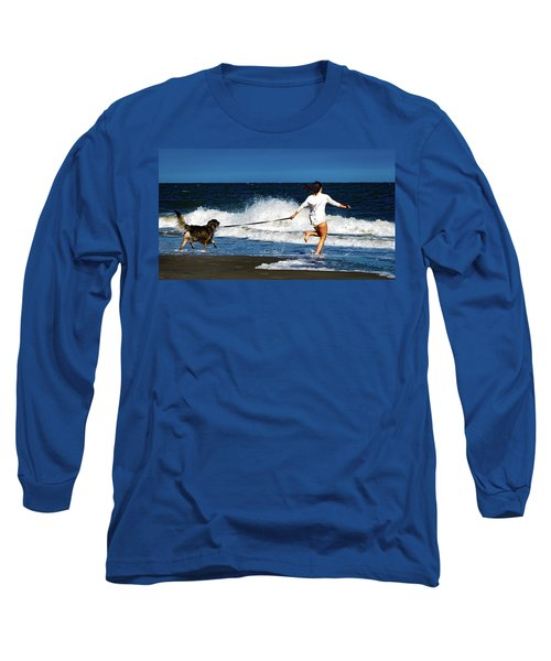 Let's Play In The Water Long Sleeve T-Shirt