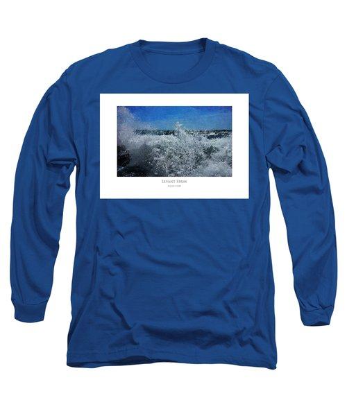 Levant Spray Long Sleeve T-Shirt