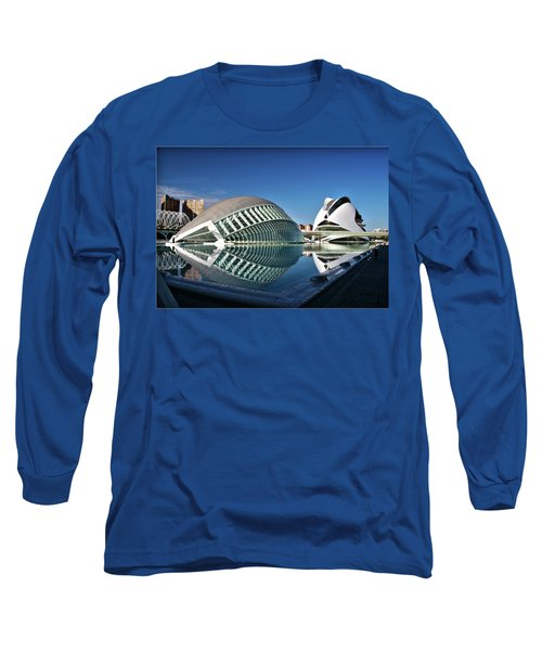 Valencia, Spain - City Of Arts And Sciences Long Sleeve T-Shirt