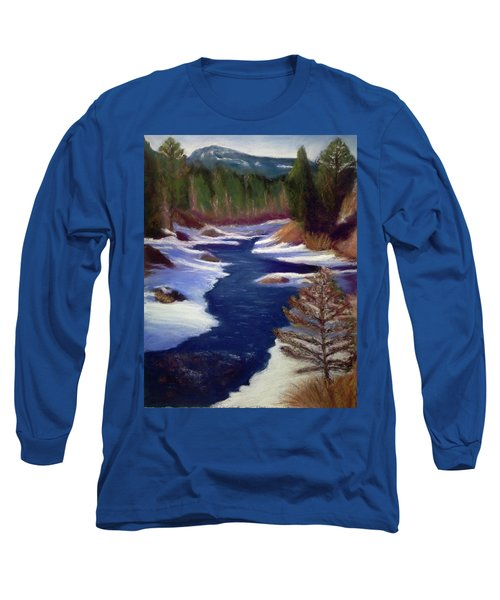 Licia's Painting Gratitude Long Sleeve T-Shirt