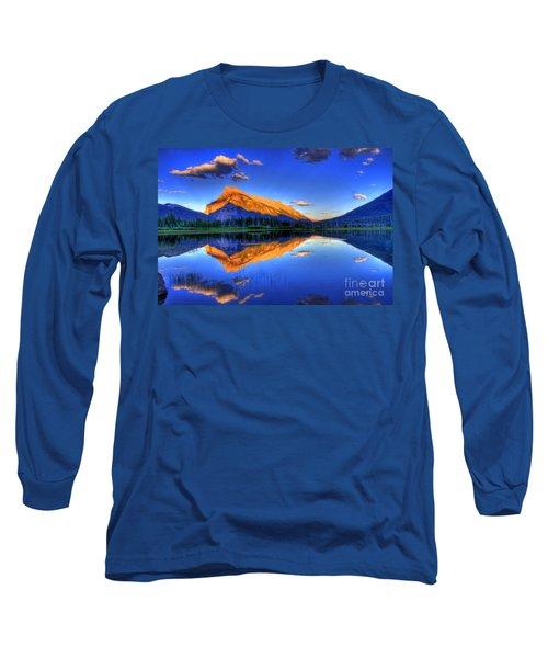 Life's Reflections Long Sleeve T-Shirt by Scott Mahon