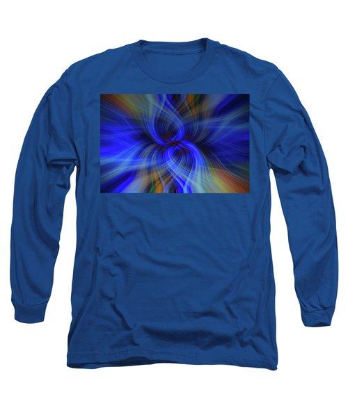 Light Abstract 7 Long Sleeve T-Shirt
