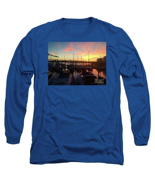 Light Show Long Sleeve T-Shirt by Beth Saffer