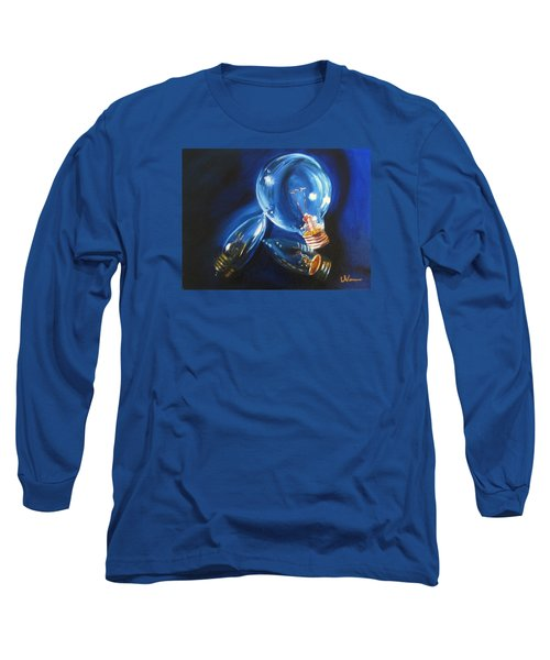 Long Sleeve T-Shirt featuring the painting Light Up My Life by LaVonne Hand