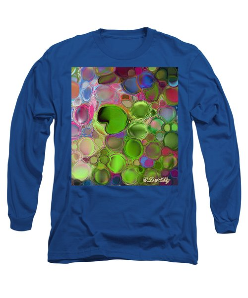 Lilly Pond Long Sleeve T-Shirt by Loxi Sibley