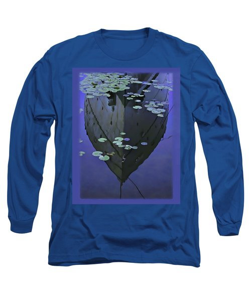 Lily Pads And Reflection Long Sleeve T-Shirt