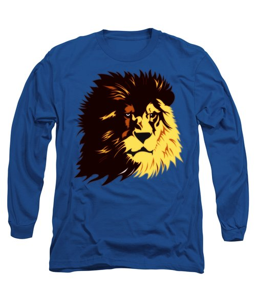 Lion Print Long Sleeve T-Shirt