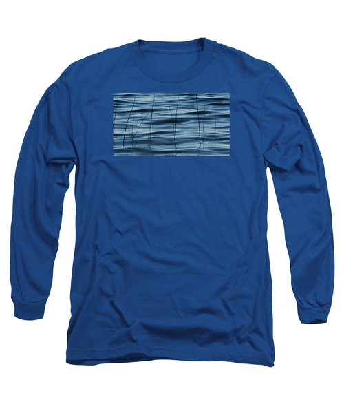 Liquid Reflections  Long Sleeve T-Shirt by Lyle Crump