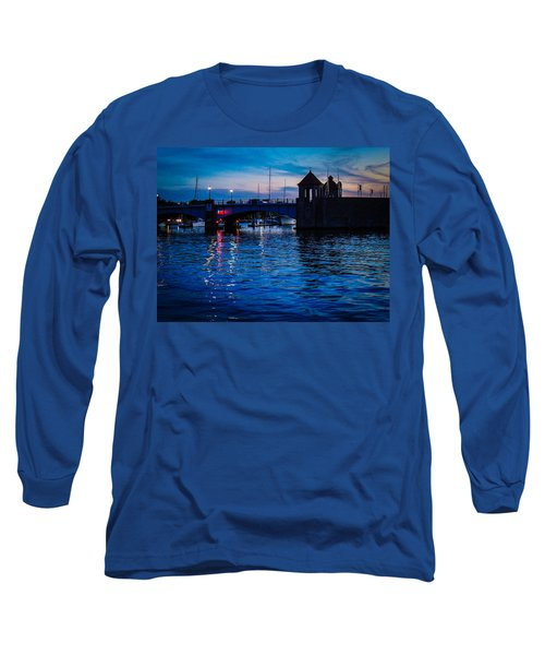 Liquid Sunset Long Sleeve T-Shirt