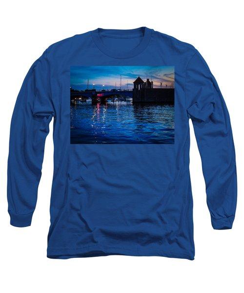 Liquid Sunset Long Sleeve T-Shirt