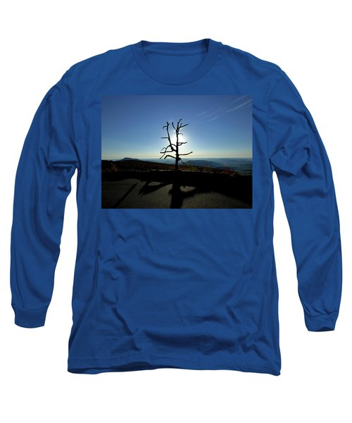 Long Sleeve T-Shirt featuring the photograph Little Devil Stairs Overlook by Robert Geary