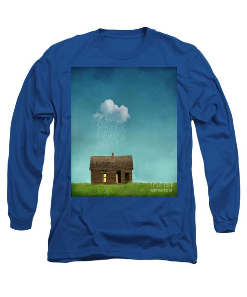 Long Sleeve T-Shirt featuring the photograph Little House Of Sorrow by Juli Scalzi