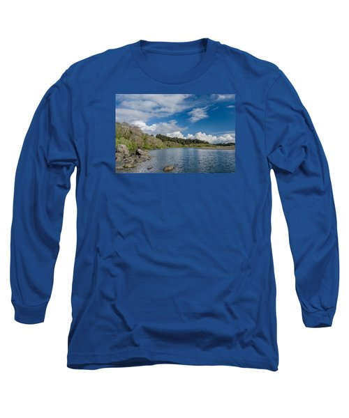 Little River In Spring Long Sleeve T-Shirt by Greg Nyquist