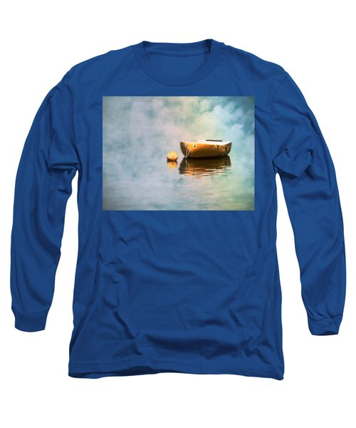 Little Yellow Boat Long Sleeve T-Shirt