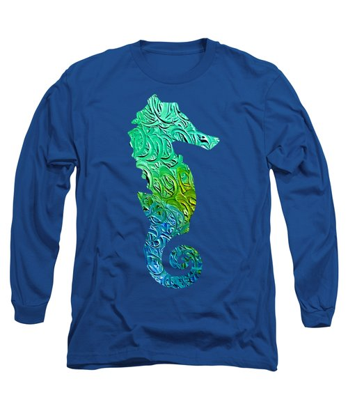Lively Seahorse Long Sleeve T-Shirt