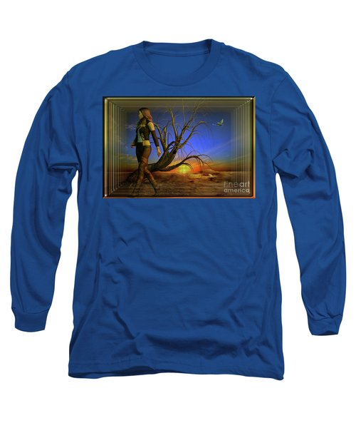 Living On The Edge Long Sleeve T-Shirt by Shadowlea Is