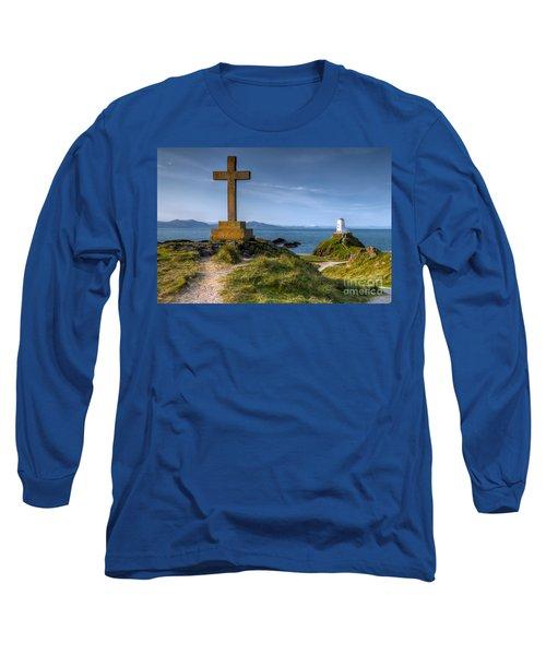 Llanddwyn Cross Long Sleeve T-Shirt