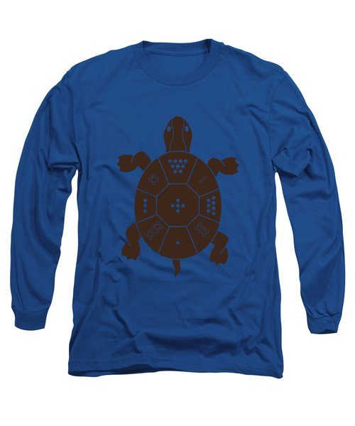 Lo Shu Turtle Long Sleeve T-Shirt by Thoth Adan