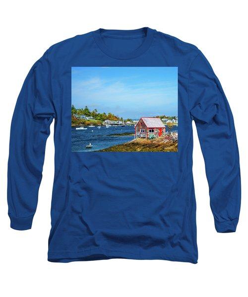 Lobstermen's Shack Long Sleeve T-Shirt