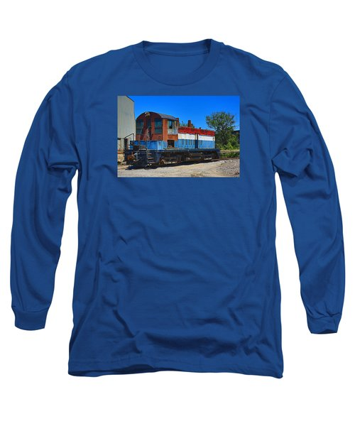 Locomotive Long Sleeve T-Shirt by Ronald Olivier