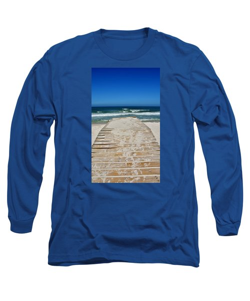 Long Sleeve T-Shirt featuring the photograph long awaited View by Werner Lehmann