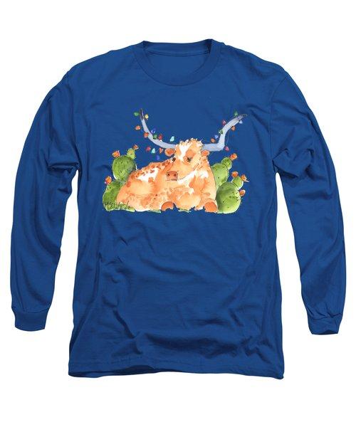 Longhorn Christmas Long Sleeve T-Shirt