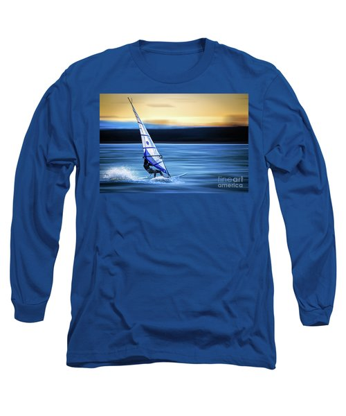 Long Sleeve T-Shirt featuring the photograph Looking Forward by Hannes Cmarits
