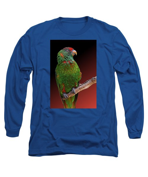 Lorikeet Portrait Long Sleeve T-Shirt