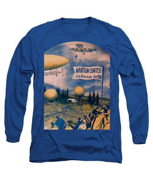 Los Angeles Aviation Contest 1910 Long Sleeve T-Shirt