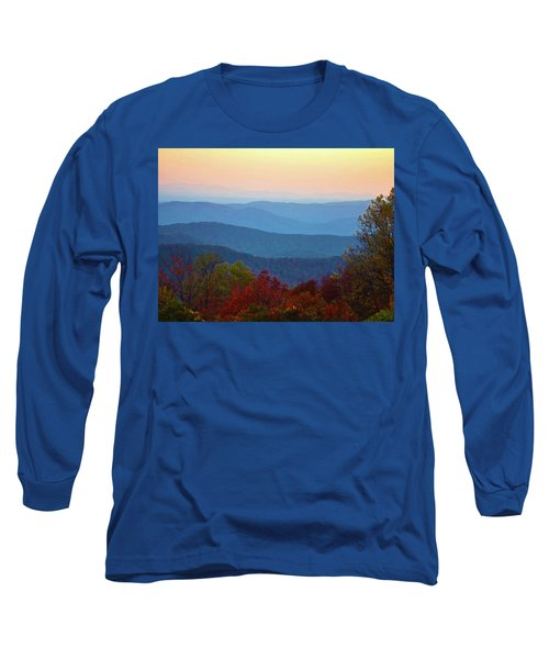 Long Sleeve T-Shirt featuring the photograph Lost On The Blueridge by B Wayne Mullins