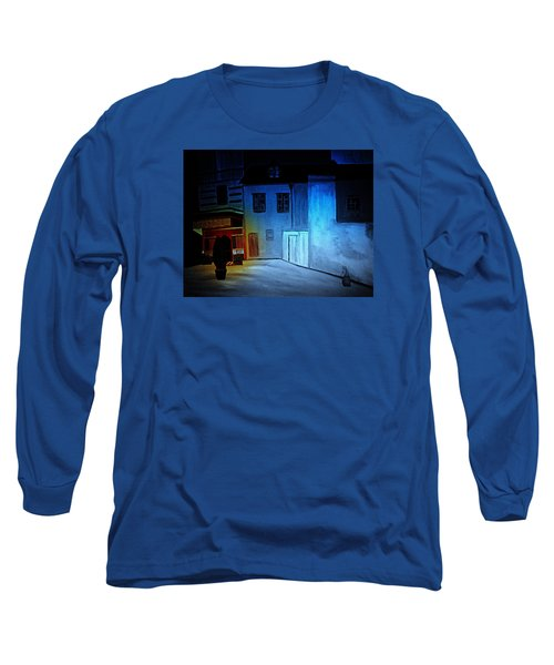 Long Sleeve T-Shirt featuring the painting Love In San Fele by Bill OConnor