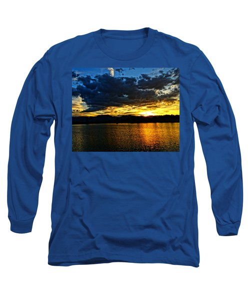 Love Lake Long Sleeve T-Shirt by Eric Dee