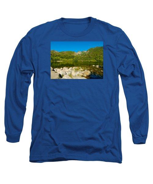 Lower Bells Canyon Reservoir Long Sleeve T-Shirt