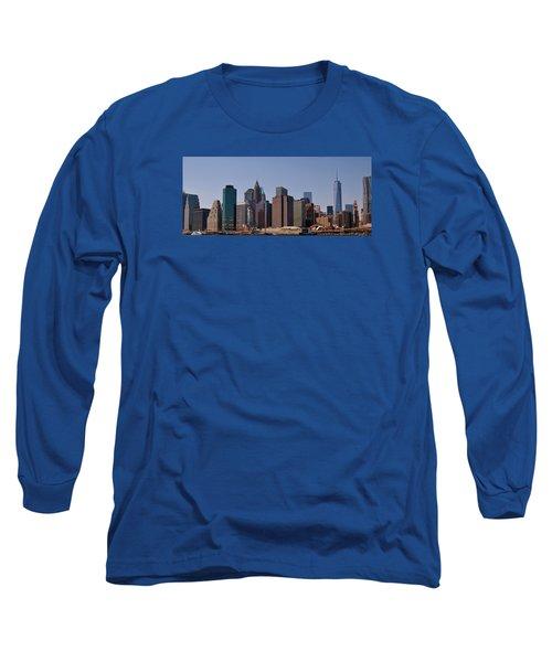 Lower Manhattan Nyc #2 Long Sleeve T-Shirt