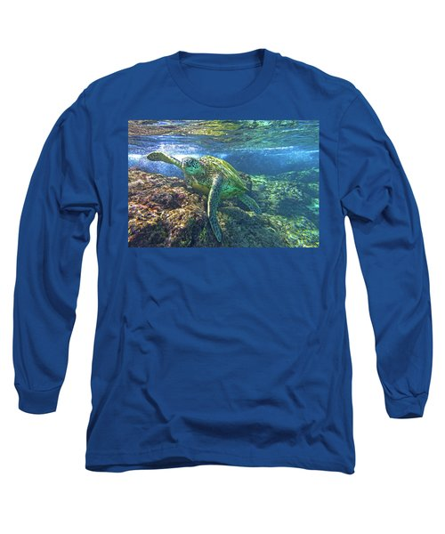 Lunch Time Long Sleeve T-Shirt by James Roemmling