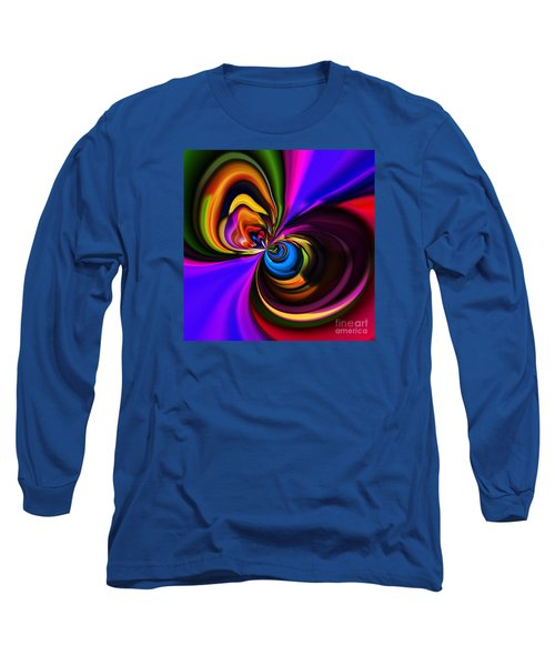 Magic Abstract Long Sleeve T-Shirt by Elaine Hunter