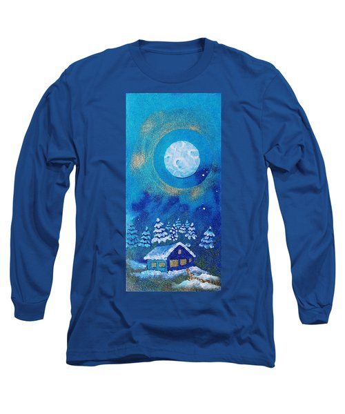 Magical Night At The Cabin Long Sleeve T-Shirt