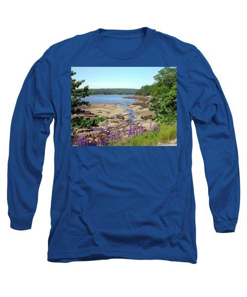 Maine Lupines Long Sleeve T-Shirt