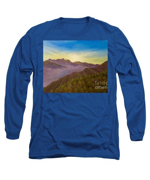 Majestic Morning Sunrise Long Sleeve T-Shirt