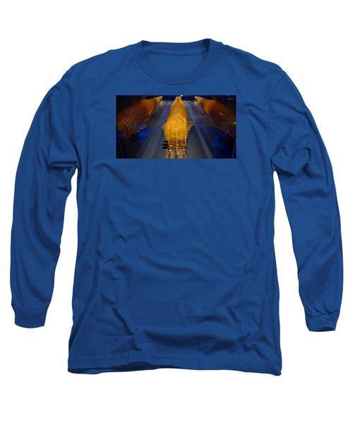 Mako Shark Long Sleeve T-Shirt by David Gilbert