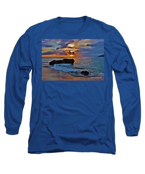 Makua Sunset Long Sleeve T-Shirt