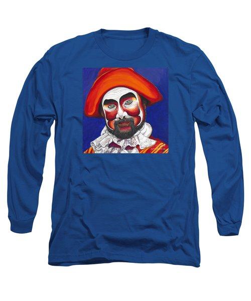 Male Pirate Carnival Figure Long Sleeve T-Shirt