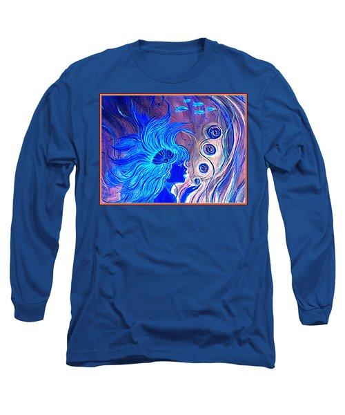 Maremaid  Long Sleeve T-Shirt by Yolanda Rodriguez