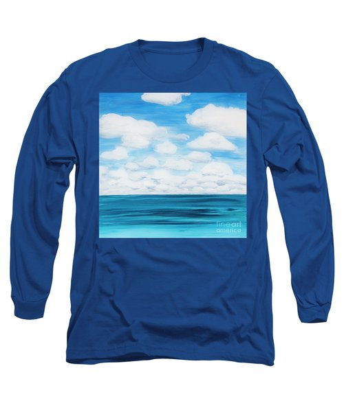 Marine Layer Breaking Up Long Sleeve T-Shirt