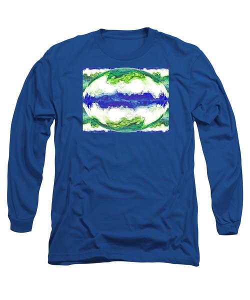Mariner's Dream Long Sleeve T-Shirt by Joan Hartenstein