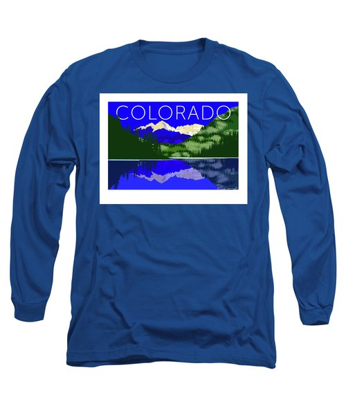 Maroon Bells Day Long Sleeve T-Shirt