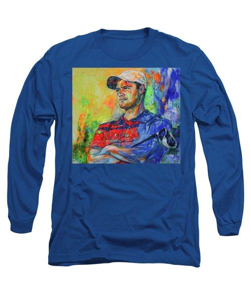 Martin Kaymer Long Sleeve T-Shirt by Koro Arandia