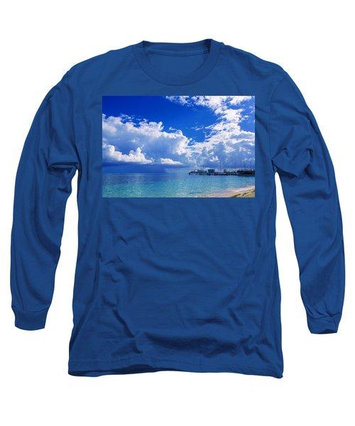 Massive Caribbean Clouds Long Sleeve T-Shirt
