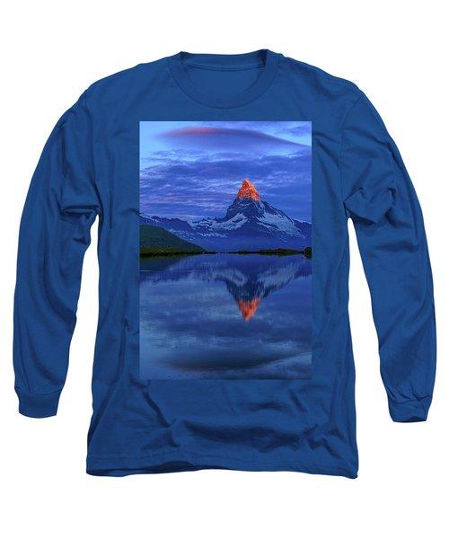 Matterhorn Sunrise Long Sleeve T-Shirt